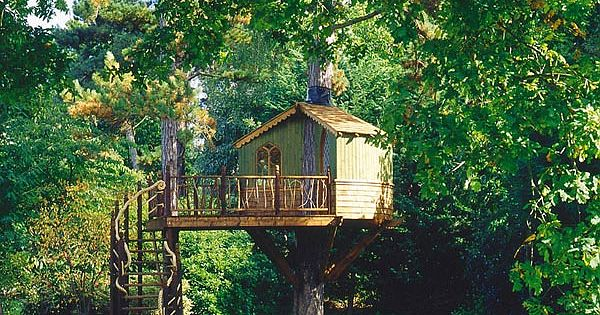 Muhteşem ağaç evler