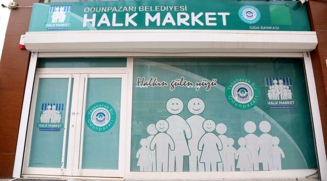 """Dayanışma'nın en güzel örneği """"Halk Market"""""""