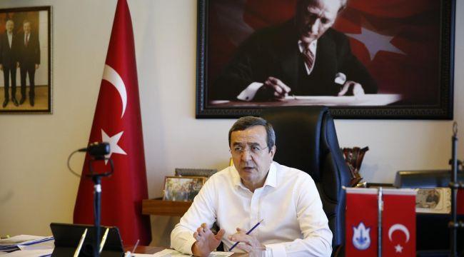 Batur Konak'ın raporunu video konferans ile aldı
