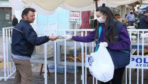 Aydın Büyükşehir Belediyesi On Binlerce Maske Dağıttı