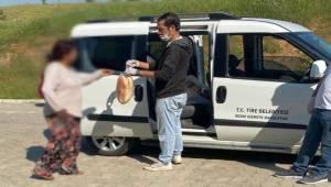 Tire Belediyesi Yardımlara Devam Ediyor