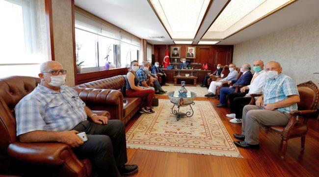 İzmir Medya Platformundan Vali Köşger'e Ziyaret