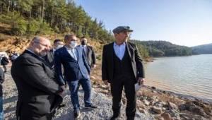 Balabandere Göleti onarıldı