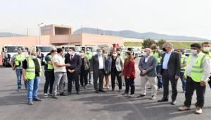 Bornova katı atık merkezine ziyaret