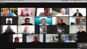 Soyer, sanayici ve iş insanları ile çevrimiçi toplantıda buluştu