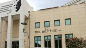 Tire Belediyesi açıklama yaptı