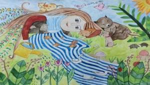 Uluslararası Pınar Çocuk Resim Yarışması'nı kazananlar belli oldu