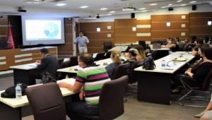 Bornova'da çalışanlara afet eğitimi verildi