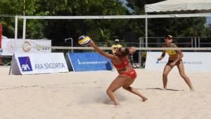 CEV U20 Plaj Voleybolu Avrupa Şampiyonası başladı