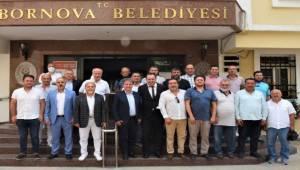 İzmir ASKF'nin yeni yönetiminden ziyaret