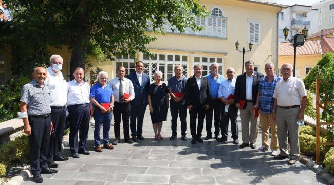 Bornova'nın başkanları buluştu