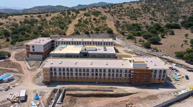 Ege Üniversitesi'nin Yeni Yurdu Tamamlanıyor