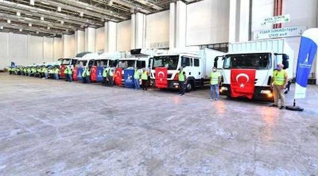 İzmir Büyükşehir Belediyesi Yardımlarını Sürdürüyor