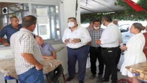 İzmir Milletvekili Kamil Okyay Sındır Üreticilerle Buluştu